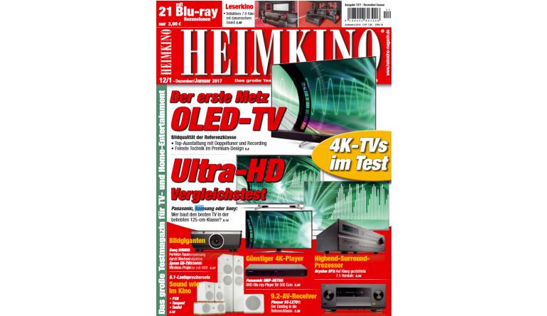 """Heimkino In der neuen """"HEIMKINO"""": Der erste OLED-TV von Metz im Test - Günstiger 4K-Player von Panasonic - News, Bild 1"""