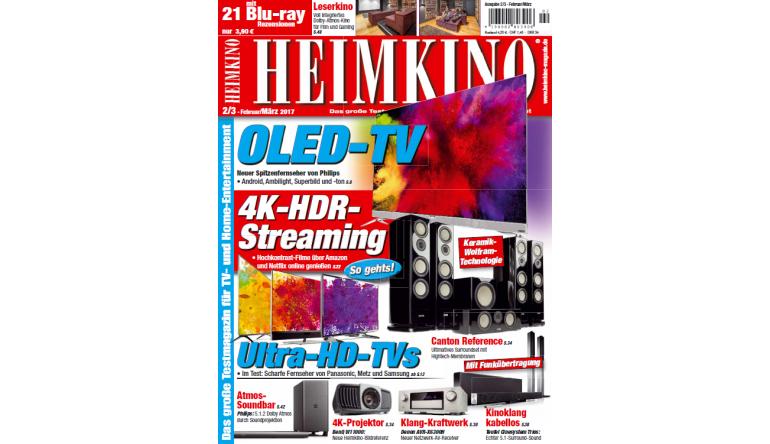"""Heimkino In der neuen """"HEIMKINO"""": So klappt 4K-HDR-Streaming - UHD-TVs im Test - News, Bild 1"""