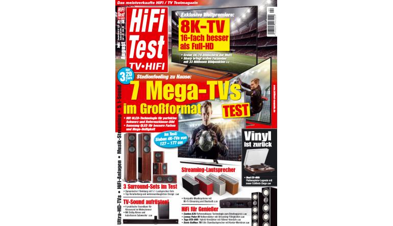 """Heimkino In der neuen """"HiFi Test"""": Exklusive Weltpremiere - Der erste 8K-TV-Bildschirm  - News, Bild 1"""