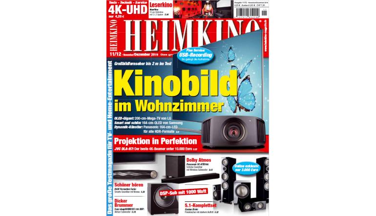 Heimkino Kinobild im Wohnzimmer: Großbildfernseher bis 2 Meter - Projektion in Perfektion - News, Bild 1
