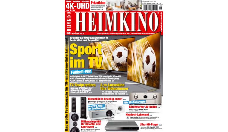 """Heimkino Perfekte Flat-TVs und Beamer zur Fußball-WM: Die """"HEIMKINO"""" als idealer Kaufberater - News, Bild 1"""
