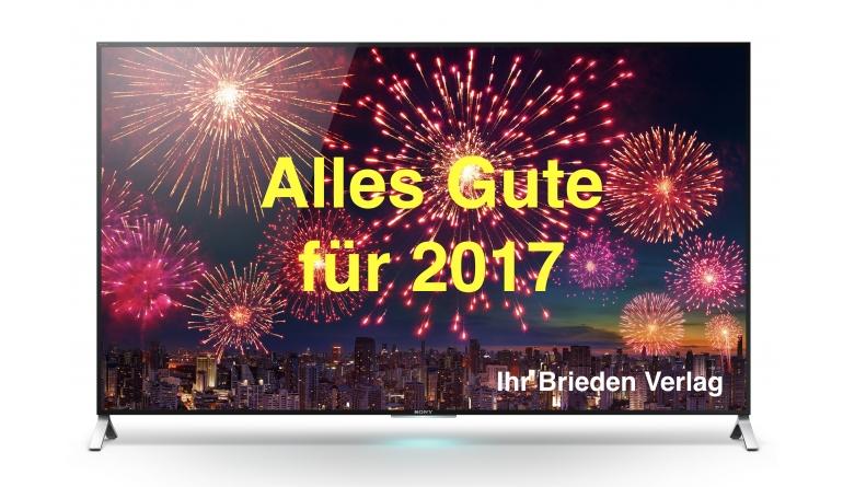 Wir wünschen Ihnen alles Gute für das neue Jahr 2017