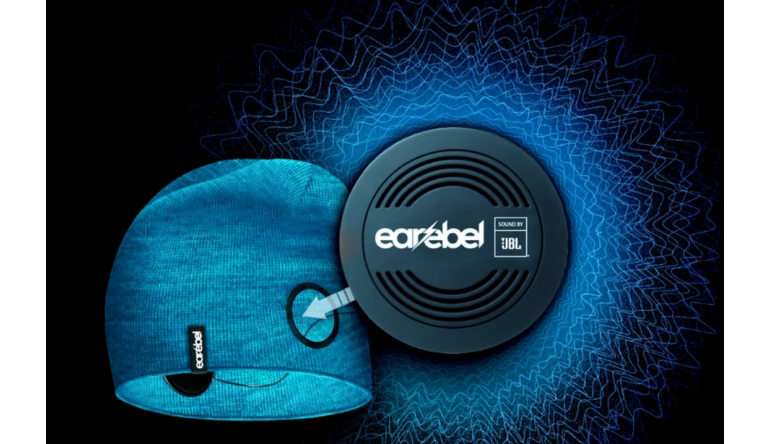 HiFi Earebel integriert Bluetooth-Kopfhörer von JBL in Mützen und Stirnbänder - News, Bild 1