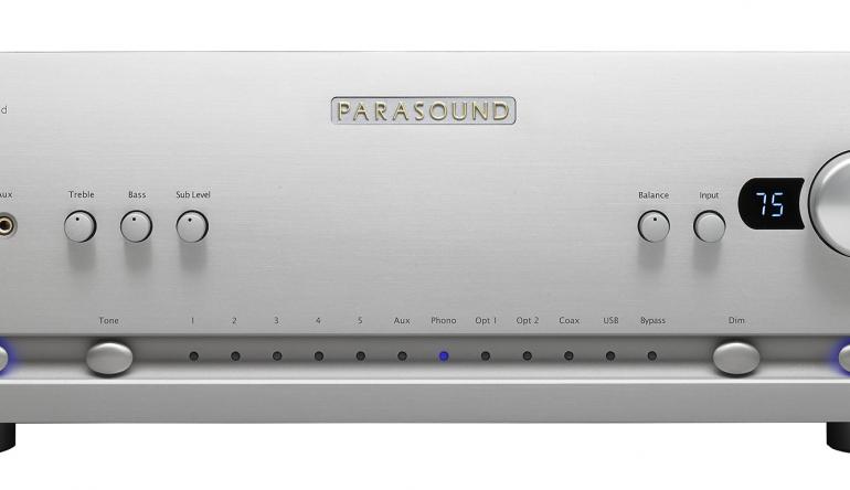 """HiFi """"Halo""""-Serie von Parasound: Input Audio vertreibt Zwei-Kanal-Verstärker in Deutschland - News, Bild 1"""