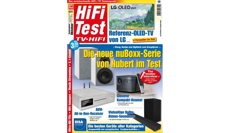 HiFi Hifi Test TV HiFi 5/2021 - News, Bild 1