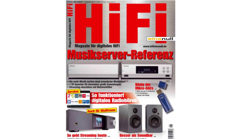 """HiFi In der neuen """"HiFi einsnull"""": Musikserver-Referenz - So geht Streaming heute (mit Video) - News, Bild 1"""