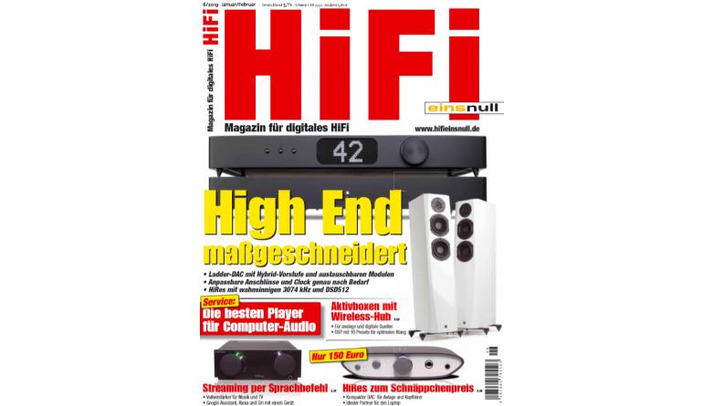 """HiFi In der neuen """"HiFi einsnull"""": So geht High End maßgeschneidert - HiRes zum Schnäppchenpreis - News, Bild 1"""