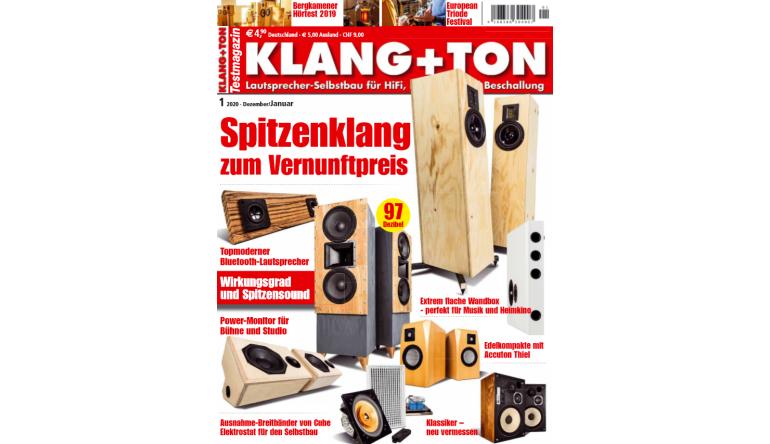 "HiFi In der neuen ""Klang+Ton"": Spitzenklang zum Vernunftpreis - Topmoderner Bluetooth-Lautsprecher - News, Bild 1"