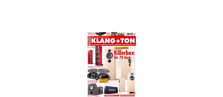 """HiFi Killerbox für 70 Euro: Die neue """"Klang + Ton"""" ist ein Muss für jeden Lautsprecher-Bastler - News, Bild 1"""