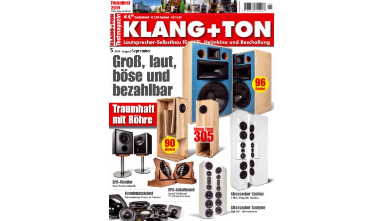 "HiFi Lautsprecher-Bausätze in der neuen ""Klang+Ton"": Groß, laut, böse und bezahlbar - News, Bild 1"