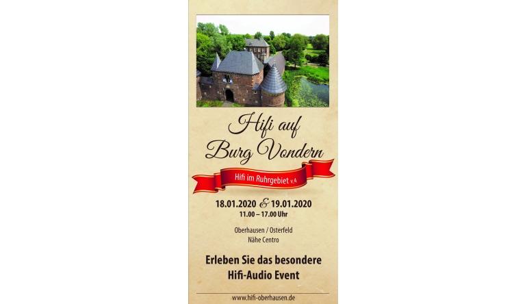 """HiFi Messe """"Hifi im Ruhrgebiet v.4"""" am 18. und 19. Januar - Seminare, Geräte, Kunst und Musik - News, Bild 1"""