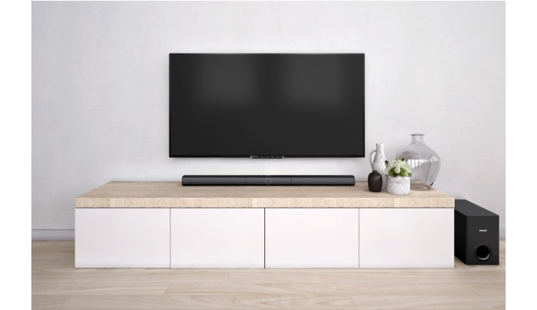 HiFi Philips Soundbar-Trio von Gibson Innovations - Externer Subwoofer und Bluetooth - News, Bild 1