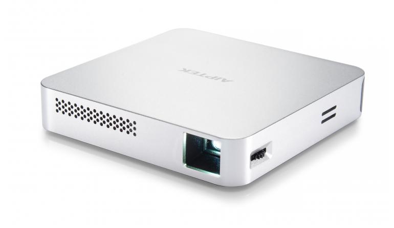 HiFi Pico-Projektor MobileCinema i70 von Aiptek mit WLAN, Akku und Lautsprechern - News, Bild 1