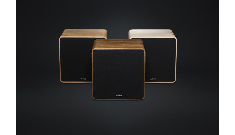 HiFi Qube XL: Neuer aktiver 2-Wege-Lautsprecher von WHD - WLAN und Bluetooth - News, Bild 1