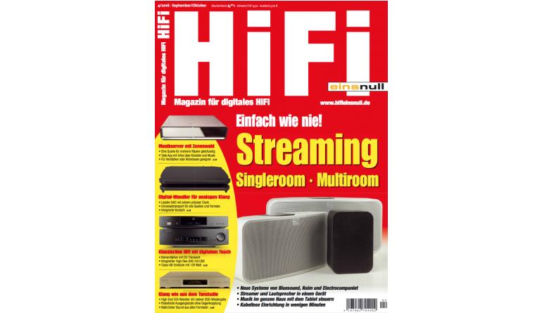 """HiFi Streaming im Single- und Multiroom-Betrieb: Alle Tipps in der neuen """"HiFi einsnull"""" - News, Bild 1"""