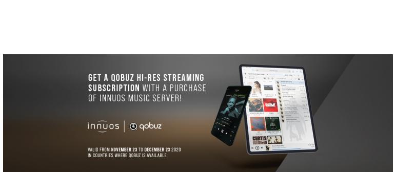 High-End Innuos kooperiert mit Qobuz - News, Bild 1