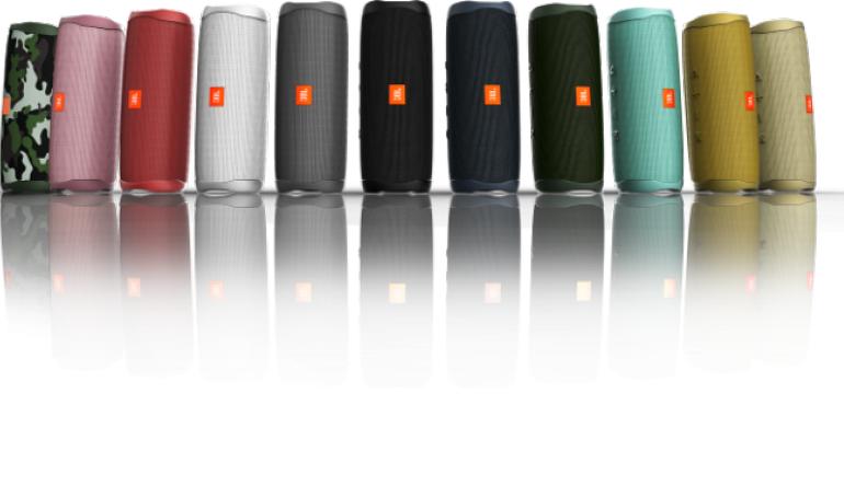 HiFi CES 2019: Neue Kopfhörer von JBL - Wasserdichter Lautsprecher Flip 5 - News, Bild 1