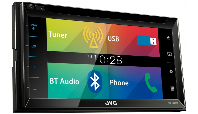 Car-Media Neuer Doppel-DIN Moniceiver von JVC mit 6,2-Zoll-Display - Bluetooth und Touch-Screen-Fläche - News, Bild 1