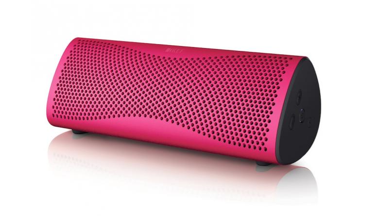 HiFi Tragbarer KEF-Lautsprecher MUO nun auch als Brilliant Rose Limited Edition  - News, Bild 1