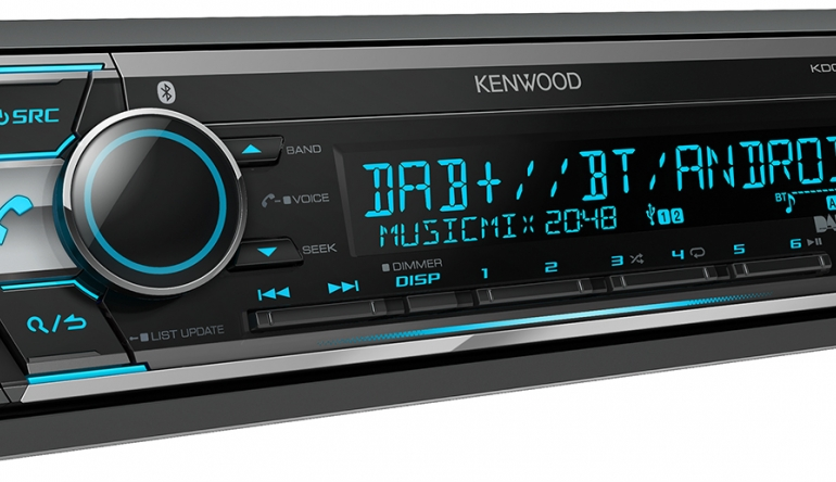 dab cd receiver und bluetooth neues autoradio kdc. Black Bedroom Furniture Sets. Home Design Ideas