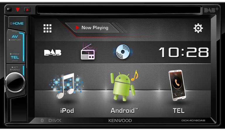 kenwood autoradio mit dab bluetooth und smartphone anbindung. Black Bedroom Furniture Sets. Home Design Ideas
