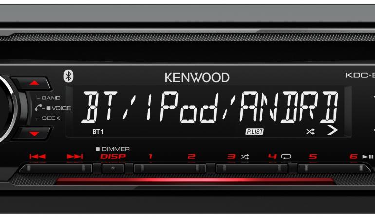 Car-Media Kenwood-Autoradios der Bluetooth-Einsteigerklasse bieten Smartphone-, CD- und Radiokomfort - News, Bild 1