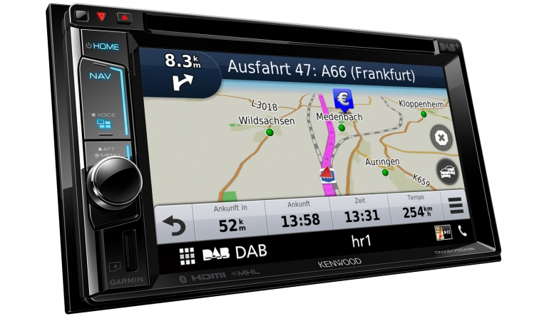Car-Media Navi, Digitalradio und Multimedia-Center: Neuer Navitainer DNX5170DABS von Kenwood - News, Bild 1