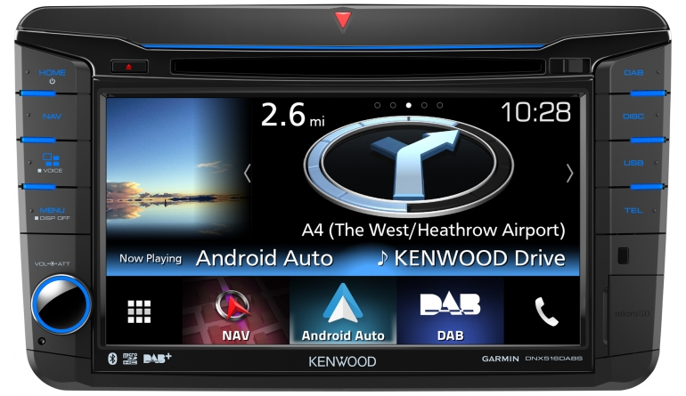Car-Media Navitainer von Kenwood maßgeschneidert für Fahrzeuge von VW, Seat und Skoda - News, Bild 1