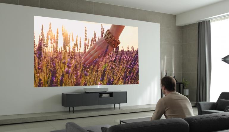 Heimkino CES 2019: 4K-Kurzdistanzprojektor von LG mit Spracherkennung - News, Bild 1