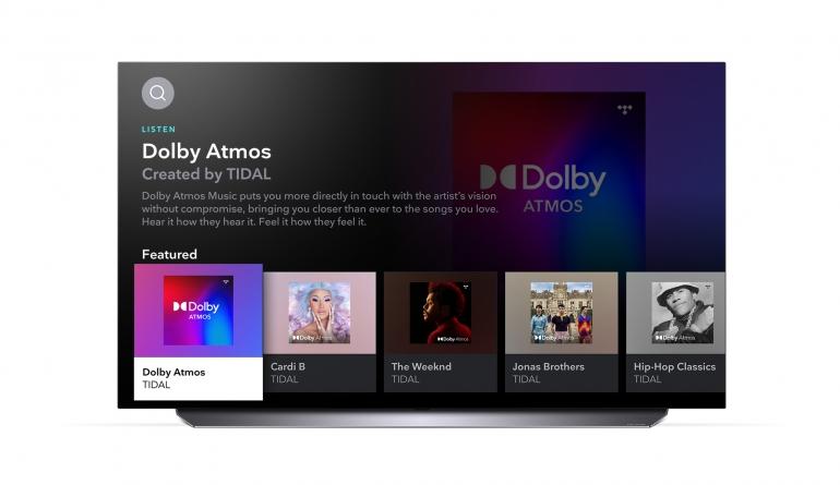 TV Streaming-App Tidal kommt auf alle LG-Smart-TVs ab 2018 - News, Bild 1