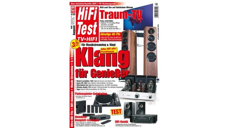 Medien Neue Ausgabe HIFI TEST4/20  - News, Bild 1