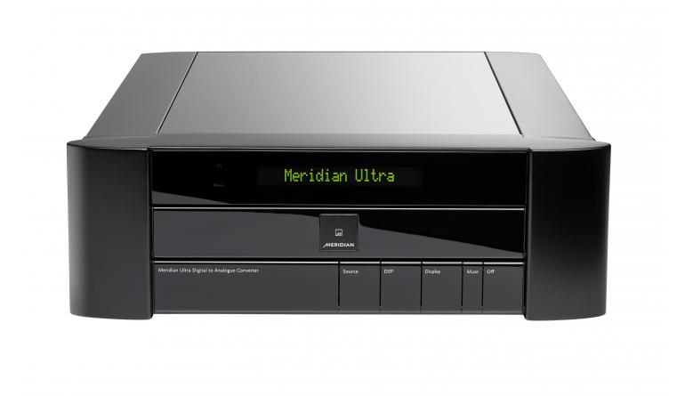 High-End Ultra DAC von Meridian für 20.000 Euro ist da: Zahlreiche Anschlüsse und große Format-Auswahl - News, Bild 1