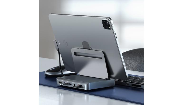 mobile Devices Aluminium-Aufsteller und USB-C-Hub für das iPad Pro mit SD-Kartenleser  - News, Bild 1