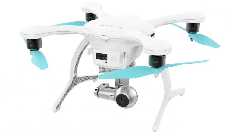 mobile Devices Filmt in 4K, wird per App oder Gesten gesteuert: Ghostdrone 2.0 von Ehang - News, Bild 1
