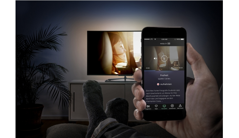 mobile Devices Neues TV-Streaming-Portal Waipu.tv gestartet - Smartphone als Fernsteuerung - News, Bild 1