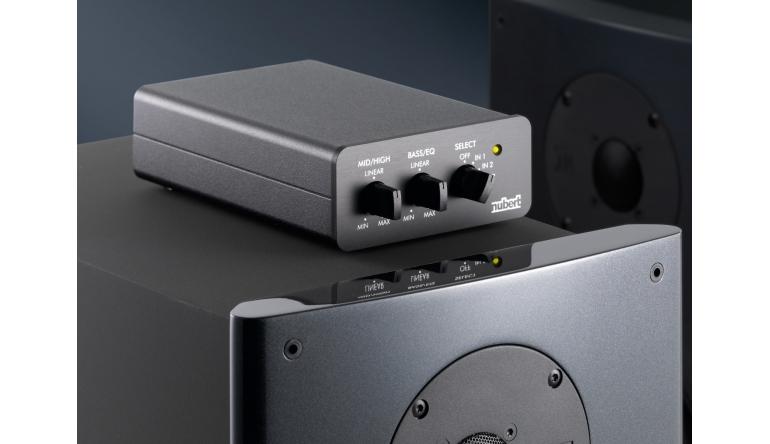 HiFi Klangoptimierung für alle Lautsprecher mit Nuberts neuen aktiven Tuning-Modulen - News, Bild 1