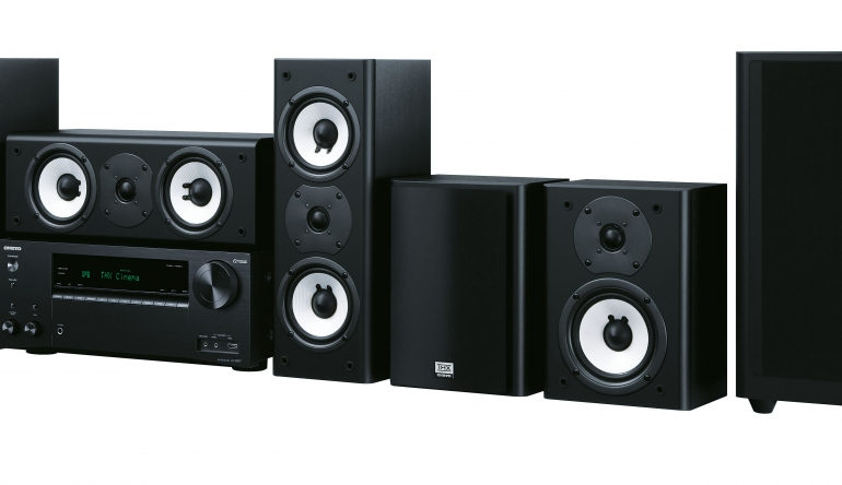 thx klang und musik ohne kabel av receiver lautsprecher. Black Bedroom Furniture Sets. Home Design Ideas