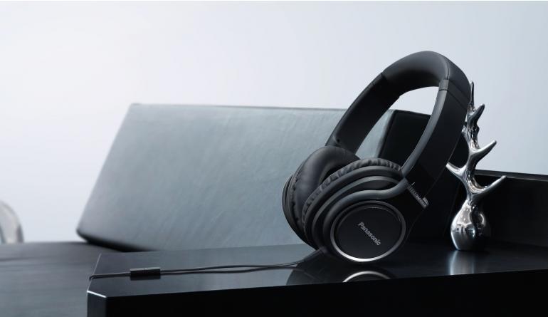 HiFi Over-Ear-Kopfhörer von Panasonic für Musik unterwegs - Telefonate möglich - News, Bild 1