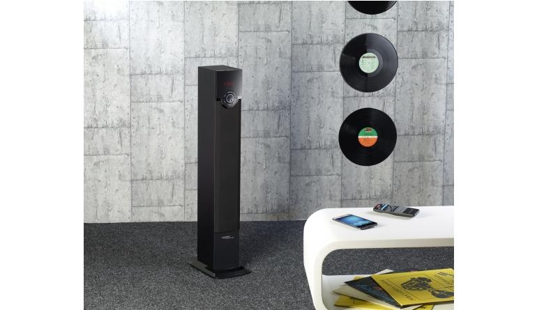 HiFi Stereo-Lautsprecher von auvisio mit UKW-Radio, USB, Bluetooth und SD-Slot - News, Bild 1