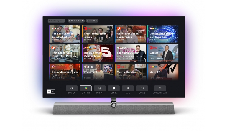 """TV Auch Philips integriert """"HD+"""" per App in seine Fernseher - News, Bild 1"""