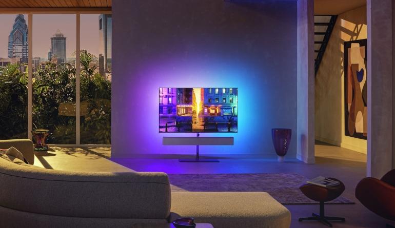TV Neue Philips OLED+ Fernseher im Oktober - 20 Prozent heller, HDMI 2.1 und vierseitiges Ambilight - News, Bild 1