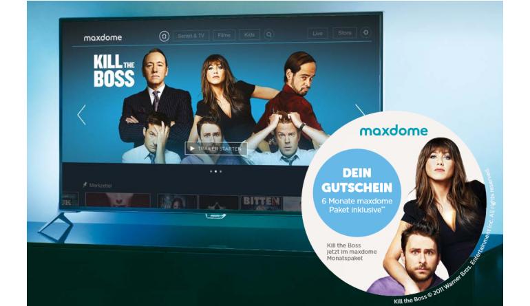 TV Philips spendiert Maxdome 6 Monate gratis - Bei TV-Kauf der 7000er Serie - News, Bild 1