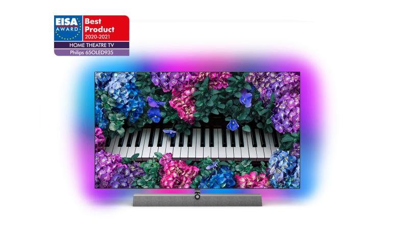TV Philips TV ist wieder zweifacher EISA-Preisträger bei OLED-TVs - News, Bild 1