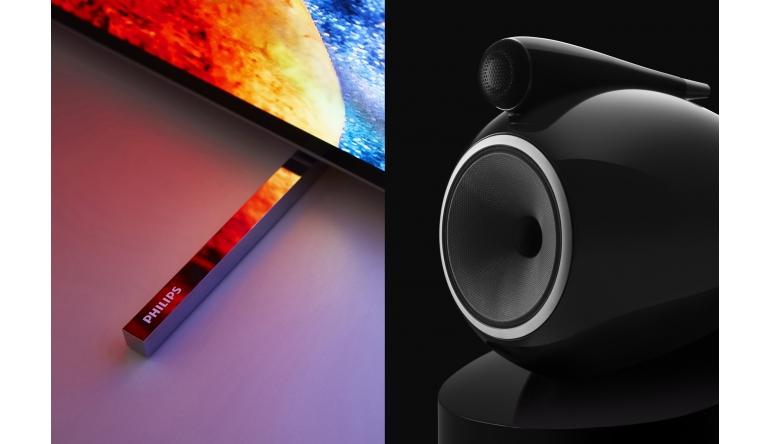 TV Philips-TV und Audio-Unternehmen Bowers & Wilkins arbeiten künftig zusammen - News, Bild 1