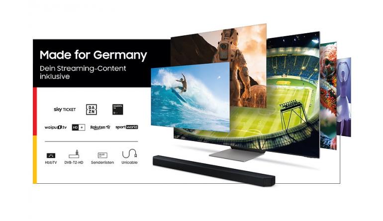 Heimkino Samsung vergibt Gutscheine für Sky Ticket, DAZN, MagentaTV, waipu.tv, HD+ sowie Rakuten TV - News, Bild 1