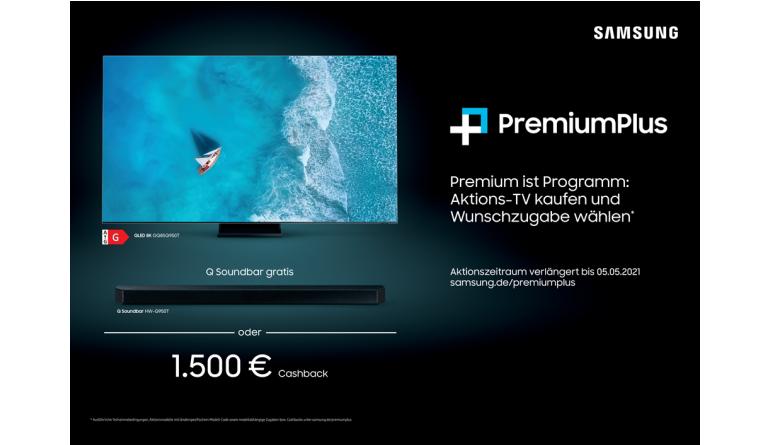 TV Am 5. Mai ist Schluss: Cashback-Aktion bei Samsung auf der Zielgeraden - News, Bild 1