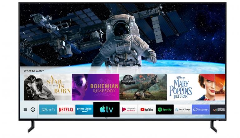 TV Samsung integriert ab sofort die Apple TV App und AirPlay 2 in seine Smart-TVs - News, Bild 1