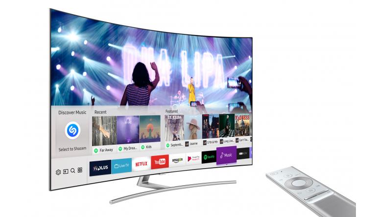 TV Samsung integriert Musikapp Shazam in seine Smart-TVs - News, Bild 1