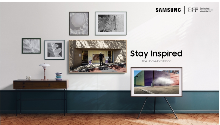 "TV ""Stay Inspired – The Home Exhibition"" auf Samsung The Frame - News, Bild 1"