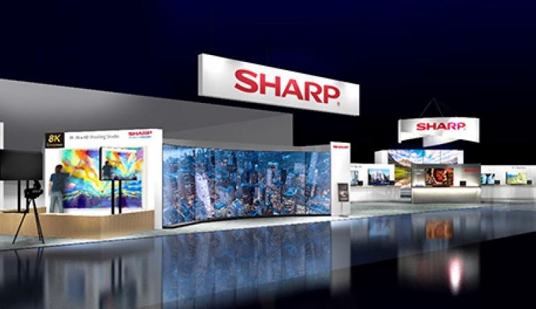 TV CES 2019: Sharp kooperiert mit Google in Europa - Android TVs kommen - News, Bild 1